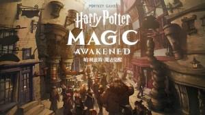 Portada del juego Harry Potter Awakened