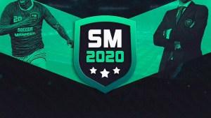 Portada del juego Soccer Manager 2020