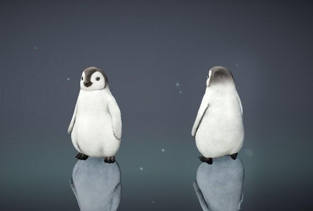 Mascota Pingüino en el juego Black Desert Mobile