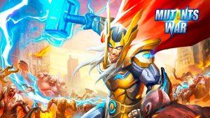 Portada del juego Mutants War