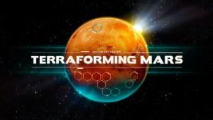 Portada del juego Terraforming Mars