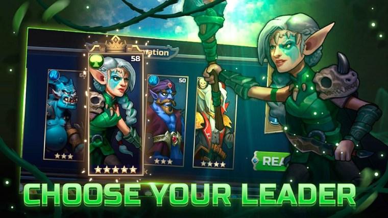 Personajes en el juego War of Champions
