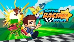 Portada del juego Battle Racing Stars