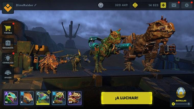 Dinosaurios en Dino Squad