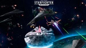 Portada del juego Star Wars: Starfighter Missions