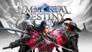 Portada del juego Immortal Destiny Android iOS