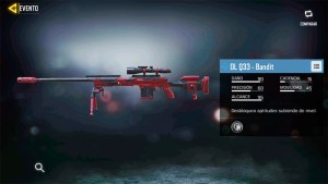 Arma DL Q33 Bandit en Call of Duty Mobile