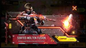 Sorteo Fusión Fundida en Call of Duty Mobile