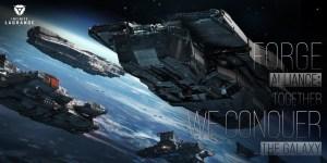 infinite lagrange juego de naves espaciales alianzas