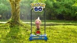 Pokémon Go día de la comunidad de Junio, Weedle.