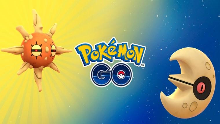 Pokémon go evento solsticio de verano 2020. Lunatone y Solrock.