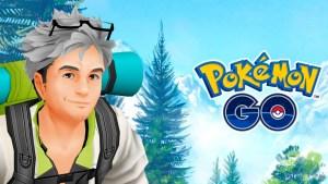 pokemon go profesor willow pegatinas