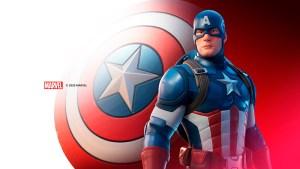 Capitán América en Fortnite