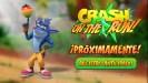 Crash Bandicoot: On the Run! disponible para registro anticipado