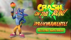Crash Bandicoot: On the Run! disponible para pre-registro en iOS y Android.