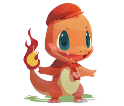 pokémon café mix charmander