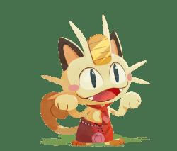 pokémon café mix meowth