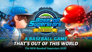 Portada del juego Baseball Superstars 2020