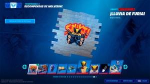 Recompensas desafíos Wolverine en Fortnite
