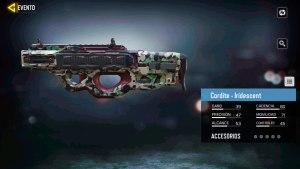 Arma Cordite Iridescent en Call of Duty Mobile