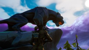 Desafío Acecho de Black Panther en Fortnite