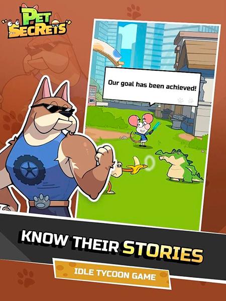 Historia en Pet Secrets