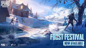 Evento Frost Festival en PUBG Mobile