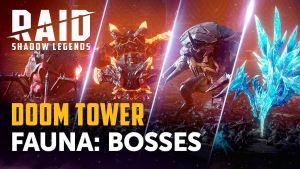 Jefes de la Torre del Destino en Raid: Shadow Legends
