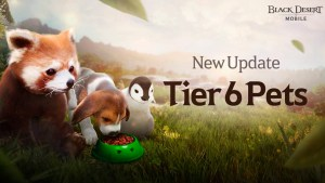 Mascotas tier 6 en Black Desert Mobile