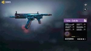 Arma Echo Cold Air en Call of Duty Mobile