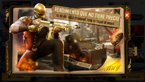 Arma HG 40 Gold Standard en Call of Duty Mobile