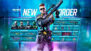 Pase Batalla New Order de Call of Duty Mobile