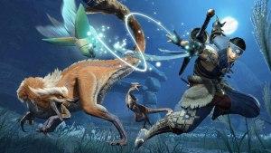 Montura wyvern en Monster Hunter Rise