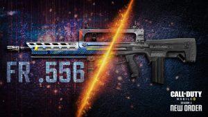 Fusil de Asalto FR .556 de Call of Duty Mobile