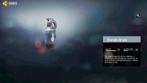 Granada de gas en Call of Duty Mobile