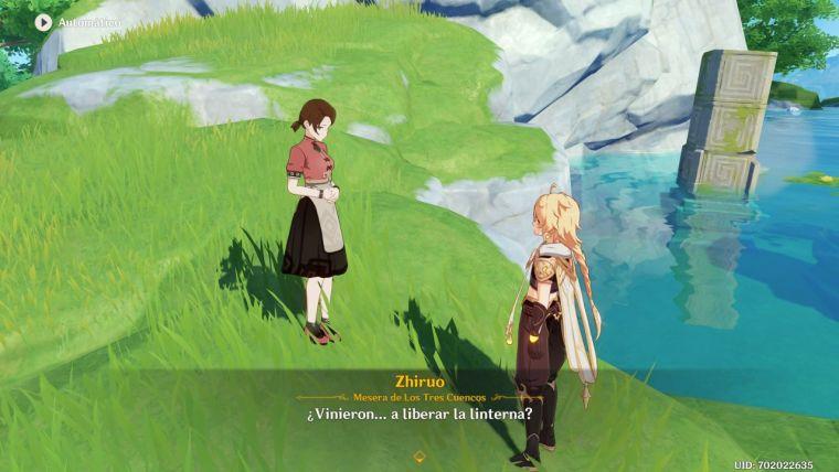 Genshin Impact rito de la linterna II anécdotas linternas del pasado guhua del presente 2