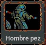 Hombre pez en Loop Hero