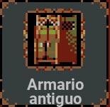 Armario antiguo en Loop Hero