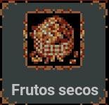Frutos secos en Loop Hero