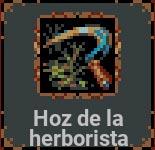 Hoz de la herborista en Loop Hero
