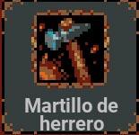 Martillo de herrero en Loop Hero