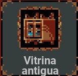 Vitrina antigua en Loop Hero