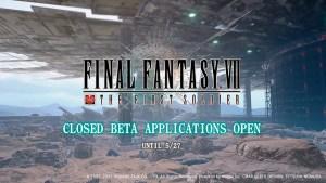 Beta cerrada de Final Fantasy VII: The First Soldier