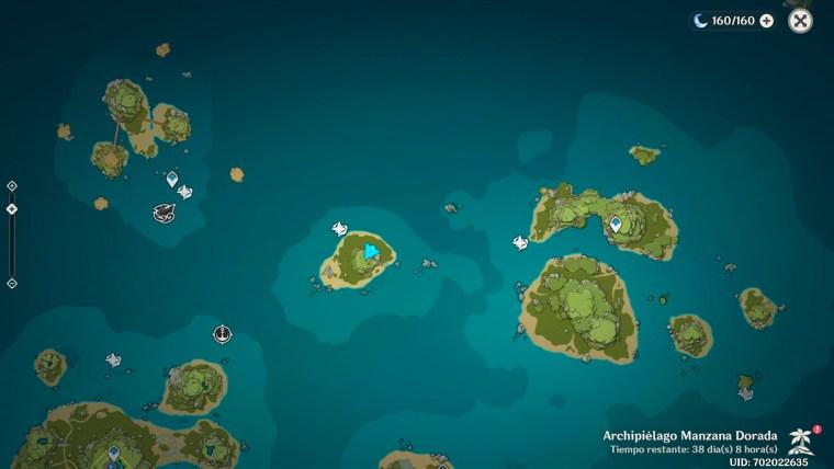 genshin impact al otro lado de la isla y el mar - oeste islas hermanas
