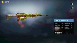 M4LMG Colorweave en Call of Duty Mobile