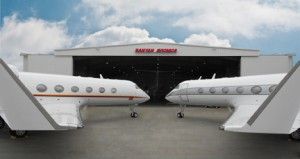 Banyan welcomes Gulfstream aircraft to it's Fort Lauderdale facility.