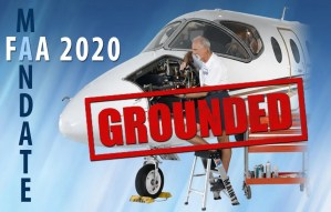 FAA Mandate Grounded Airplane
