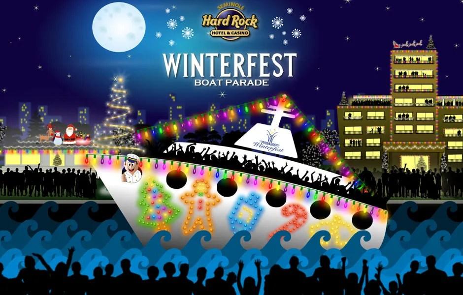 Hard Rock Winterfest Boat Parade