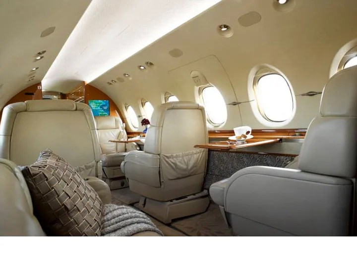 2006 Hawker 850XP ipeco seats