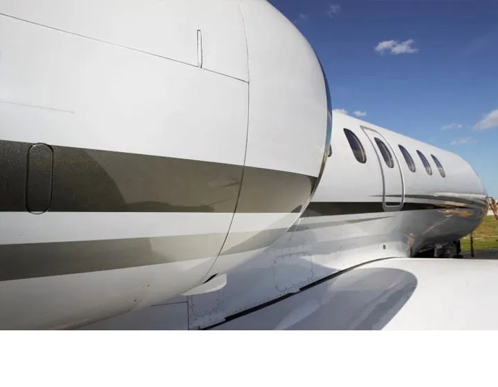 2006 Hawker 850XP stripe colors